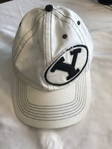 Team Brigham Young University Cougars NCAA 47 Twins White Cap Size Medium NWT - $14.20