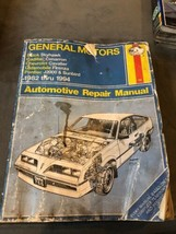 Haynes 766 General Motors GM Automotive Repair Manual 1982-1994 Buick Pontiac+ - $5.00