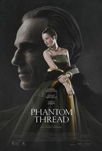 The Phantom Thread - original DS movie poster - 27x40 D/S Daniel Day-Lew... - $36.00