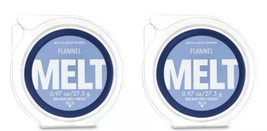 Bath & Body Works FLANNEL Wax Melts Tarts Refill Discs Refills~X 2 - $9.90