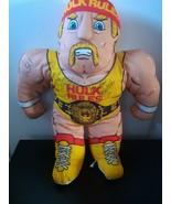Vintage Hulk Hogan Tonka Pillow Plush Autographed Signed Brutus Beefcake... - $395.95