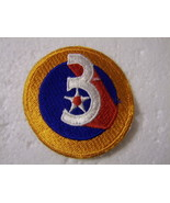 3rd AIR FORCE PATCH CURRENT MANUFACTURER :K6 - $3.85