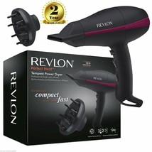Revlon Pro Dryer Hair Of AC Power Tempest rvdr5821duk Diffuser 2000 W - $165.82