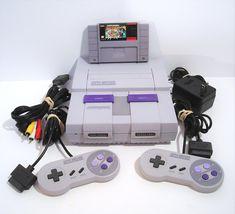 Original SNES Super Nintendo System Console with Mario All-Stars! - $99.95