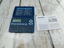 Sharp Electronic Organizer 34KB  EL-6800 - $7.91