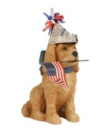 Bethany Lowe Patriotic Americana Puppy Dog US Flag 4th Fourth of July Decoration - €26,29 EUR