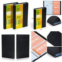 Business Card Holder Organizer Book - Pu Leather, 2 Pack Total For 600 B... - $15.88