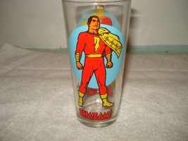Vintage Shazam Super Series Hero Pepsi glass 1976 - $14.84