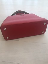 100% Authentic Louis Vuitton CAPUCINES MM Bag Red Taurillon Python image 6