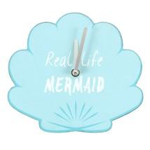 MDF Mermaid Shell Wall Clock; 05617 - $18.20