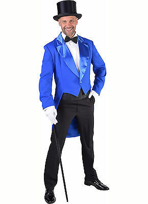 Deluxe BLUE Tailcoat / Cabaret Show   - Gents