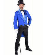Deluxe BLUE Tailcoat / Cabaret Show   - Gents  - $50.57