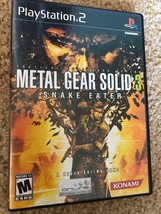 Metal Gear Solid 3: Snake Eater - Playstation 2 Game Complete - $12.99