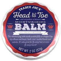 Trader Joe's Head to Toe Moisturizing Balm and Beard Balm 2 Ounce, 3-Pack image 3
