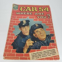 Car 54 Where are you? #2 1962 Vintage Dell Comic Book June August Police  - $34.99