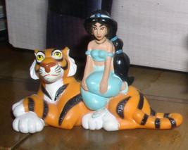"Princess Jasmine sitting on Rajah standing from Aladdin 3x3"" Disney  Pvc - $27.00"
