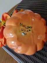 Vintage Haeger Ceramic Pottery Halloween Jack-O-Lantern Pumpkin Planter USA #311 image 5