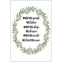 When You Speak We Listen Wall Art - $12.38