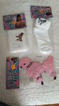 NEW FLIRTIN WITH THE 50'S HALLOWEEN COSTUME POODLE SET, PATCH, SCARF, SOCKS - $8.90