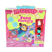 Smooshy Mushy Food Factory Game w/ 4 Figures NEW - $14.98
