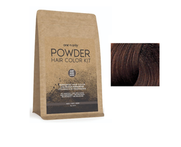 One 'N Only Powder Permanent Hair Color Kit, Chocolate Brown