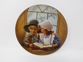 "Reco ""Little Tutor"" Collectible Plate - Day's Gone By Collection - $16.14"