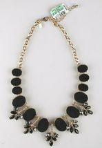 I.N.C. Gold-Tone Faux Velvet-Covered Multi-Stone Crystal Statement Necklace 18 image 5