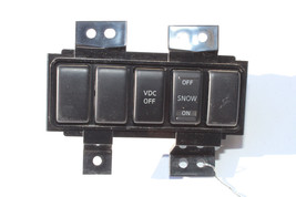2003-2008 INFINITI FX35 VDC OFF W/ SNOW TRACTION CONTROL SWITCH ASSY K695 - $68.59