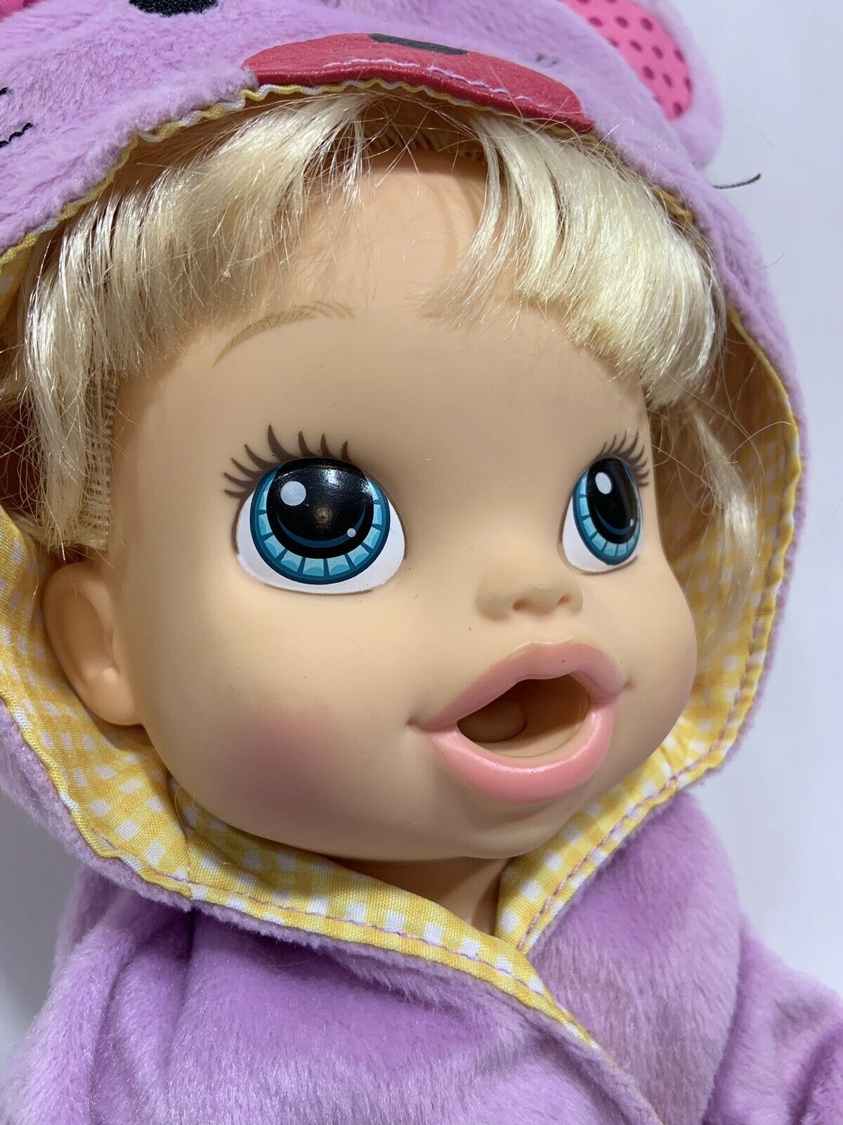 Baby Alive Hasbro 2013 Blonde Doll Interactive Talking Bilingual English Spanish image 3