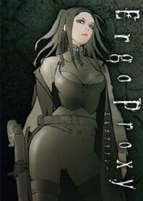 ERGO PROXY - Anime Series - EPISODES 1-23 - 3 DVD English!! - USA Shipping