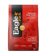 Eagle Pack Natural Dry Large Breed Puppy Food, Lamb, Chicken & Fish Reci... - $67.27