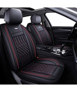 5 Car Seat Covers Full Set with Waterproof Faux Leather Universal for Se... - $214.04+