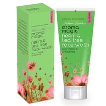 Aroma Magic Neem & Tea Tree Face Wash 100ml, 50ml Free Shipping Worldwide - $6.99+
