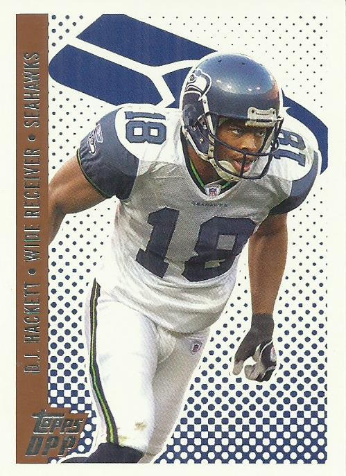2006 Topps Draft Picks and Prospects #105 D.J. Hackett