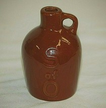 Mini S of O Stoneware Crock Whiskey Moonshine Jug Jar Country Farmhouse ... - $29.69