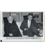 JOHN F. KENNEDY ORIGINAL TYPE 1 NEWS SERVICE PHOTOS. FOUR DIFFERENT - $29.69