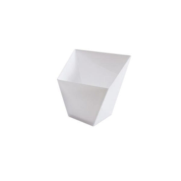 Mini Ware Trapezoid Cup White/Case of 288