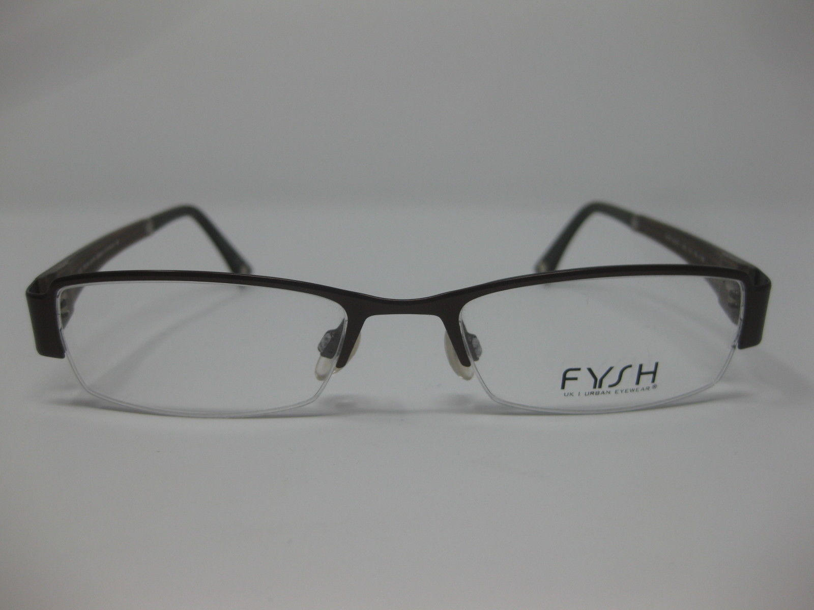 Primary image for Fysh UK Eyeglasses 3405 120 51-18-135 New Brown
