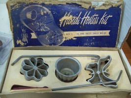 Vintage Handi Hostess Kit Waflette & Patty Shell Molds No 109 Bonley Pro... - $9.89