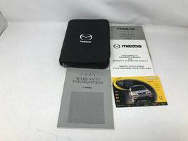 2001 Mazda Tribute Owners Manual Handbook Set with Case OEM Z0A0539 - $19.79
