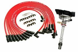 EFI VORTEC 1996-2002 Distributor & Spark Plug Wires For Chevy GM SBC T5.0L 5.7L