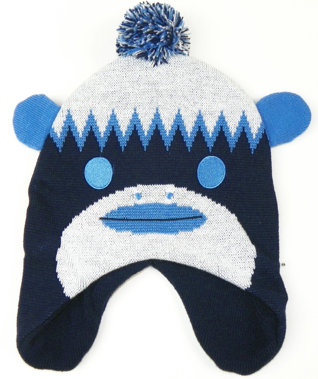 Tennessee Titans Boy's 8-20 Hat Knit Pom Beanie NFL Youth