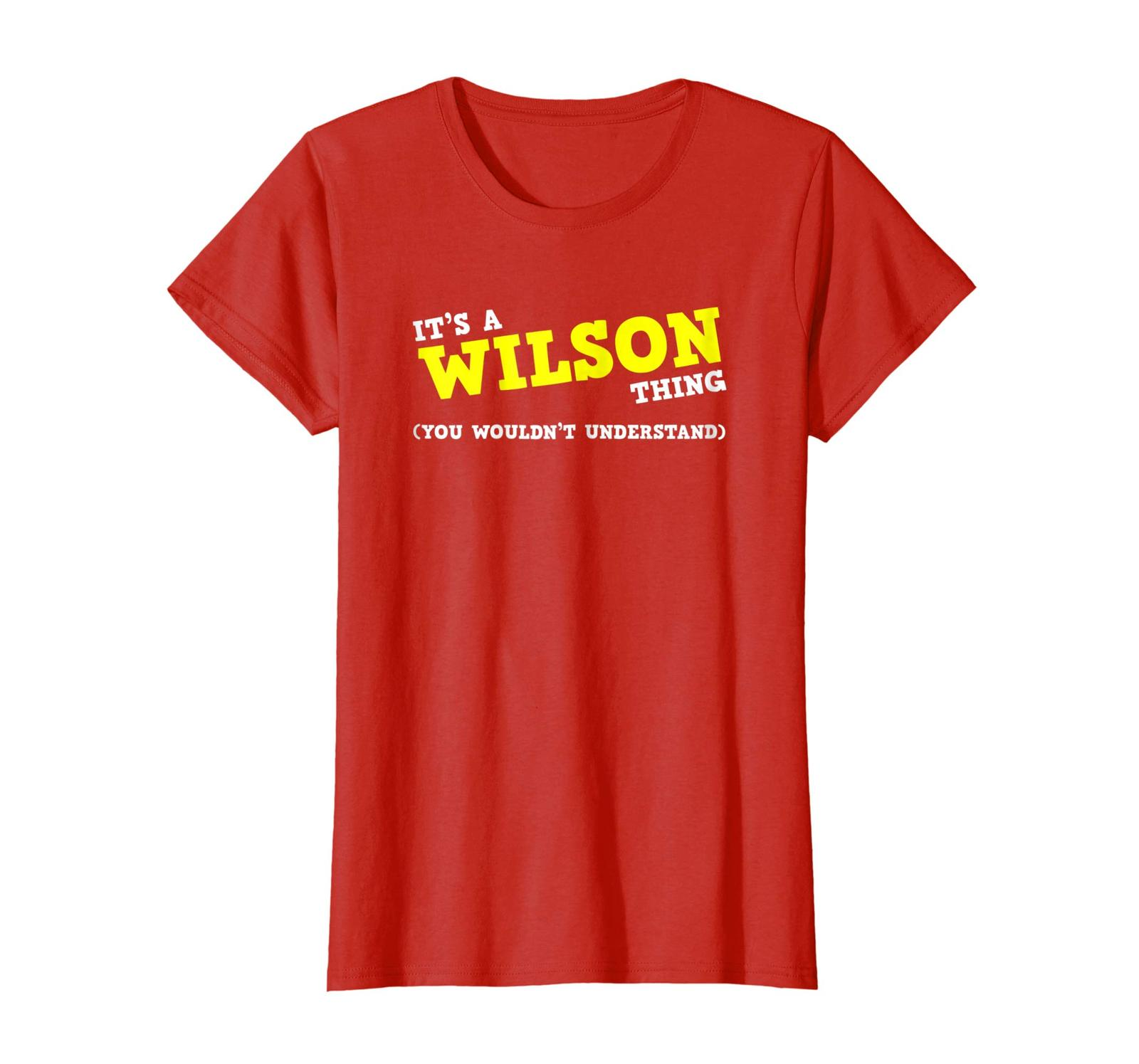 Special shirts - Funny Wilson Matching Family Name Shirt Gifts Wowen
