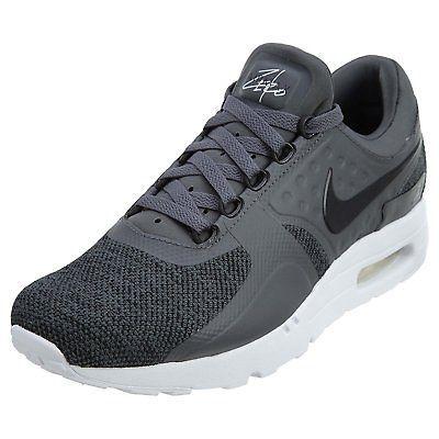 Nike Mens Air Max Zero SE Sneakers Grey/White 918232-001