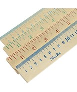 SilverDot 12-Pack Wood Yardstick Double-Sided with Inches and Centimeter... - $41.32