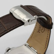 JAGUAR WATCH, SWISS MADE, SAPPHIRE CRYSTAL, 44 MM CASE, BEIGE, BROWN WITH DATE image 3