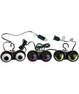 Peep n' Peepers Flashing Eyes Halloween Lights - $28.09