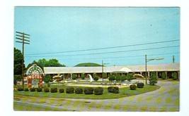 Cave Land Motel Cave City Kentucky postcard - $3.96