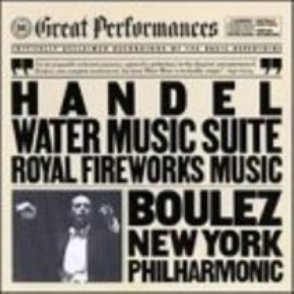 Water Music Suite / Royal Fireworks Music  Kodly Zoltn / Prokofiev  Cd