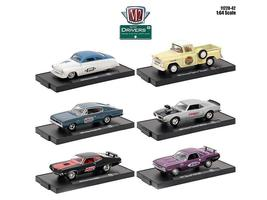 Drivers 6 Cars Set Release 42 In Blister Packs 1:64 Diecast Model Cars - $51.46